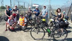 Kerékpár és NW hármashatár túrán