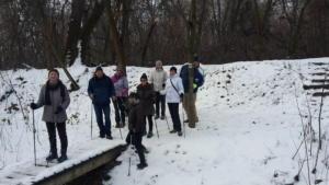 Rotary ösvény télen 2019.január